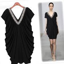 black plus size dress pluslook eu collection