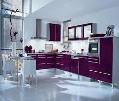 purple and lilac kitchen in the interior home interior wallpaper