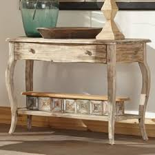 Reclaimed Wood Console Table Reclaimed Wood Console Sofa Tables You Ll Wayfair