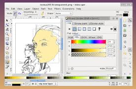 tutorial how to make colour vector illustrations from line