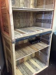 Pallet Wood Bookshelf Brilliant Rustic Wood Bookcase Kids As Wells As Rustic Nursery