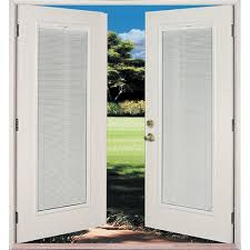 Blinds For French Doors Lowes Shop Reliabilt 6 U0027 Reliabilt French Patio Door Miami Dade County