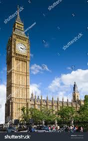 London Clock Tower by Big Ben London Westminster Palace Clock Stock Photo 17733757
