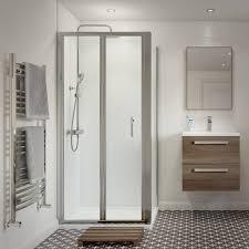 bi fold shower enclosures the bath house