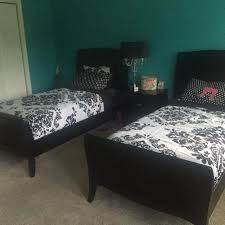 rooms to go twin beds find more rooms to go belle noir dark merlot twin bed set for sale