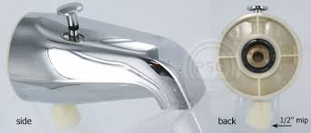 How To Change A Bathroom Faucet by Add A Shower And Hand Shower Diverter Tub Spout Kits