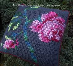 Patterns For Knitted Cushion Covers Crochet Cushion Covers English Pattern