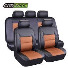 couvre siege cuir voiture passer artificielle en cuir auto housses de siège de