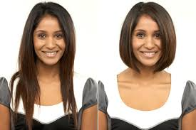 before and after picuters of long to short hair midlength hair taking the plunge from long to short freeda wigs