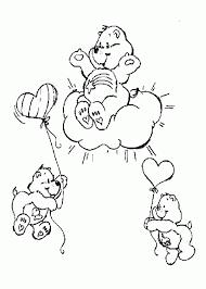 friend bear care bear coloring