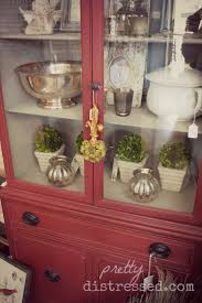 Hutch Kitchen Cabinets Best 25 Red Hutch Ideas On Pinterest Red Buffet Red Painted