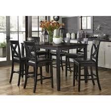 Black And Wood Dining Table Black Dining Room Sets Shop The Best Deals For Nov 2017