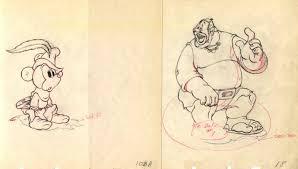 brave tailor 1938 original production drawings