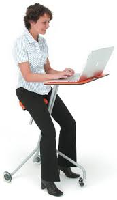 Laptop Desk With Wheels Scooterdesk Puts Your Laptop On Wheels Technabob