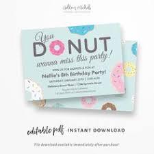 donut invitations donut birthday invitations by falcoclan