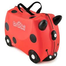 amazon com harley the lady bug trunki suitcase 9220009 toys