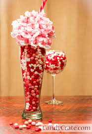 Candy Vases Centerpieces How To Create A Valentine U0027s Day Candy Buffet My Love Of Style