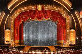 swarovski crystal curtain backdrop created for the stage at the