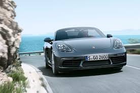 Porsche Boxster 2017 - 2017 porsche 718 boxster revealed with new turbo engines