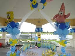 dreamark events blog spongebob theme birthday decor