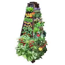 Vertical Garden Planter Tower Vertical Garden 4 Sided Planter Review