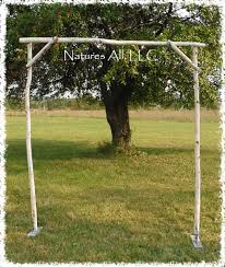 wedding arbor kits diy white birch wedding arch rustic white birch wedding arch kit