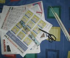 15 minutes newspaper kite that really flies 4 steps