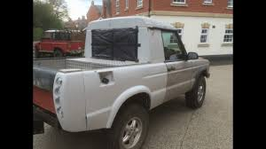 land rover pickup truck discovery pickup conversion youtube