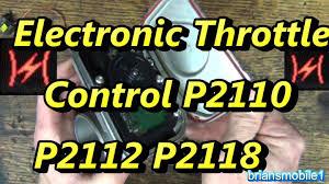 chrysler 300 dash warning lights lightning bolt electronic throttle control p2110 p2112 p2118 p2110 youtube