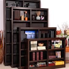 concepts in wood double wide wood veneer bookcase hayneedle