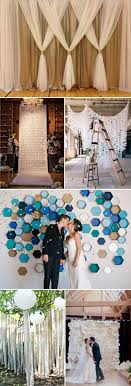 wedding backdrops diy top 20 unique backdrops for wedding ceremony ideas