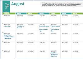 class calendar template expin franklinfire co