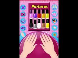 nail salon games for girls youtube