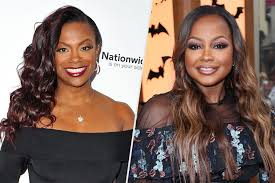 back of phaedra s hair rhoa phaedra parks admits to being petty with kandi burruss