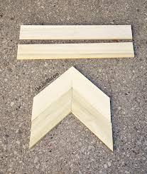 diy wooden arrow tutorial cherished bliss