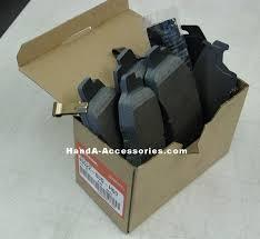 2003 honda civic brake pads genuine honda civic accessories maintenance items