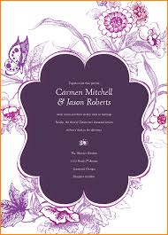 Indian Wedding Card Samples 6 Invitation Cards Template Memo Templates