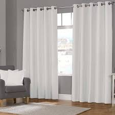 Outdoor Winter Curtains Julian Charles Fully Eyelet Curtains Free Uk Delivery Terrys White