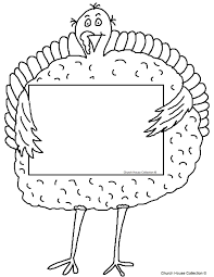 thanksgiving writing templates turkey holding sign eat more beef coloring page