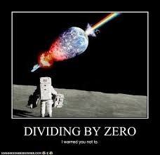 Divide By Zero Meme - dividing by zero division and memes