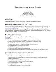Promotional Resume Sample Object Of Resume Resume Cv Cover Letter