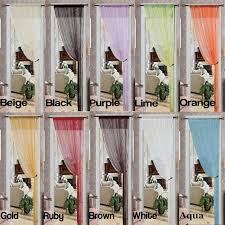 thread curtain panel linen store