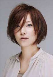 hair bangs short blunt square face hairstyle for square face asian women 6 jpg 600 882 hair style