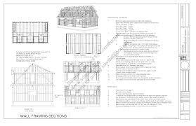 Cape Cod Plans by G445 Plans 48 U0027 X 28 U0027 X 10 U0027 Cape Cod Garage Plans Bonus Room