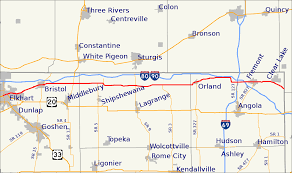 Map Of Michigan City Indiana by Indiana State Road 120 Wikipedia