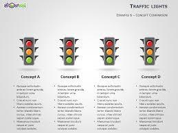 powerpoint stoplight chart template traffic lights powerpoint