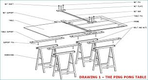 what size is a regulation ping pong table how to build a ping pong table