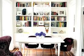 bookshelves in dining room dining room bookshelves psgraphicdesign co