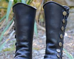womens boots knee high leather leather boots etsy