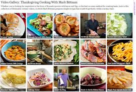 ny times thanksgiving